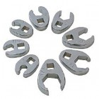 "Sunex 8PC 3/8 Dr. Deluxe SAE Crowfoot Wrench Set (3/8"" to 7/8"")"