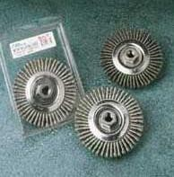 "Sait 6"" x .025 Wire x 5/8-11 Arbor Regular Twist Pipeline Wire Wheels"