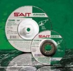 "Sait 4-1/2"" x 1/4"" x 7/8"" Depressed Center Grinding Wheel (25 Wheels)"