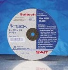 "4""x1/16""x3/8"" Saitech Cut-Off Wheels (50 Wheels)"