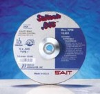 "Sait 6"" x .045"" x 7/8"" Saitech High Speed Cut-Off Wheels (50 Wheels)"