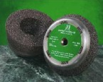 "Sait 5"" x 2"" x 5/8-11 Cup Grinding Stone w/Metal Backing (6 Stones)"