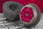 "Sait 6"" x 2"" x 5/8-11 Type 11 A16 Cup Grinding Stone (5 Stones)"