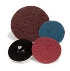 "4"" Sand-Light Med Maroon H&L Non-Woven Discs (10 Discs)"