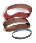 "Sait 3/4"" x 18"" Maroon Non-Woven Surface Conditioning Belts (10 Belts)"