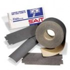 "Sait 3-5/16"" x 50yds 100C-Grit Silicon Carbide Drywall Paper Roll"