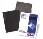 "Sait 9"" x 11"" 120G Saitscreen Silicon Carbide Cloth Sheets (25 Sheets)"