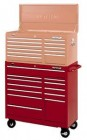 Waterloo Blue Traxx-Series 12-Drawer Tool Cart